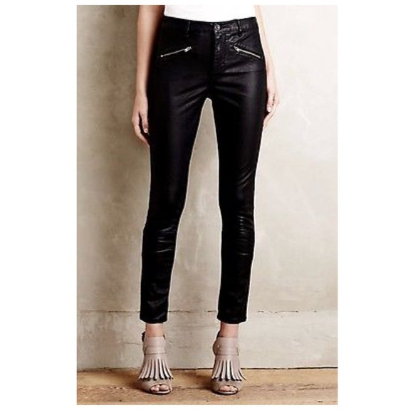 c41ddbeef0afc1 Anthropologie Pants - Pilcro faux leather pant from Anthropologie